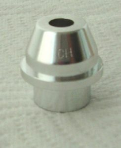 Air Cap with a silver finish